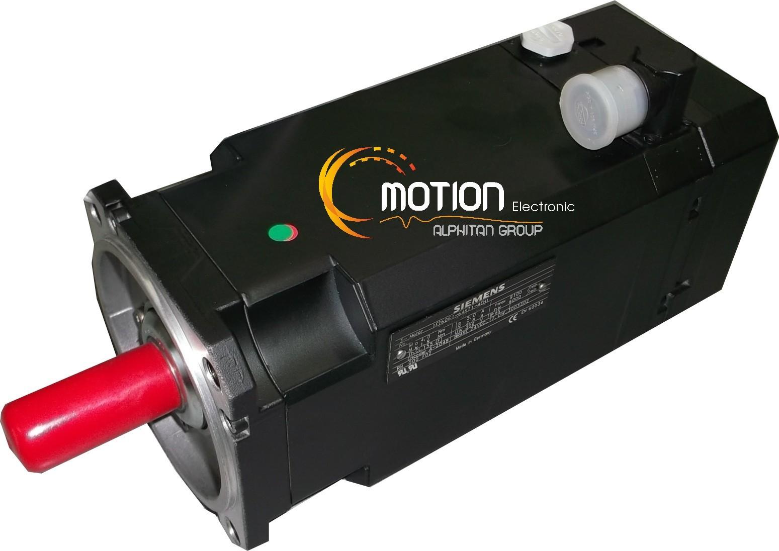 Siemens 1ft6061 6ak71 1ah1 motor for Siemens electric motors catalog