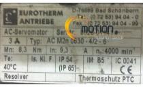 EUROTHERM ANTRIEBE AC M2n 0830 - 4/2 - 6