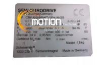 SEW EURODRIVE CMP40S/BP/KTY/RH1M/SB MOTOR