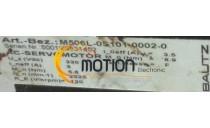 MOTEUR BAUTZ M506L-0S101 0002-0